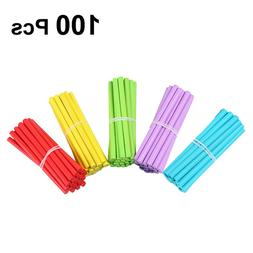 100pcs Counting Rods Counting Sticks Wooden Colorful Math Ma