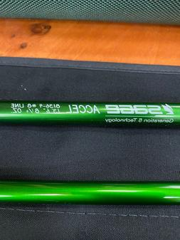 """Sage Accel Spey Rod ~ 13'6"""" 8wt 8136-4 ~ New with Tube"""