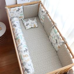 Baby Bed Bumper For Newborns Baby Room Decoration Thick Soft