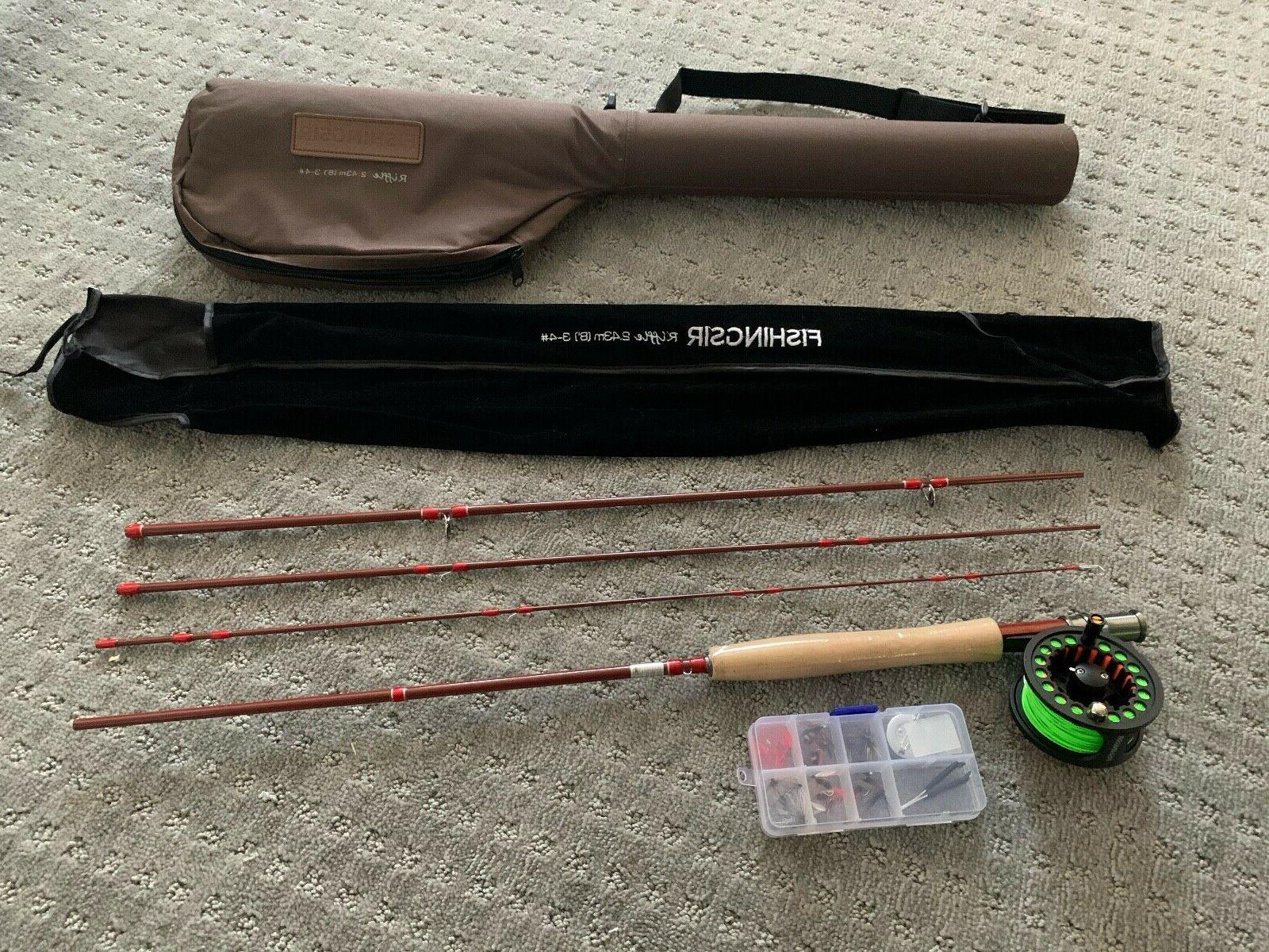 fly fishing rod and reel combo complete